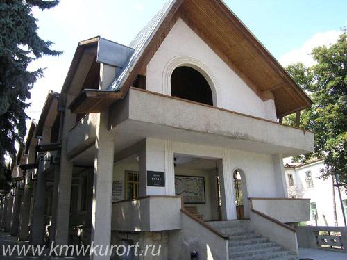 Фасад санатория Колос в Кисловодске